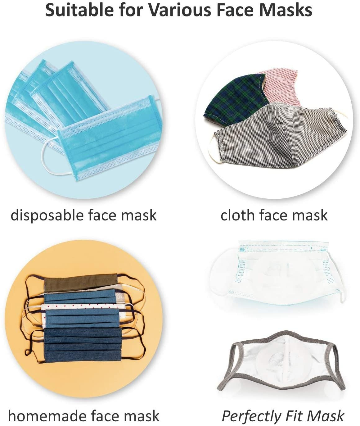 Face Covering Inner Support Frame (Pack of 3/5/10/20pcs)