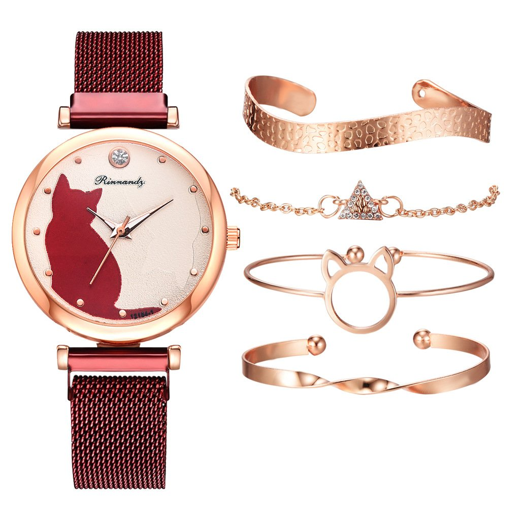 5pcs set Women Watches-50% OFF