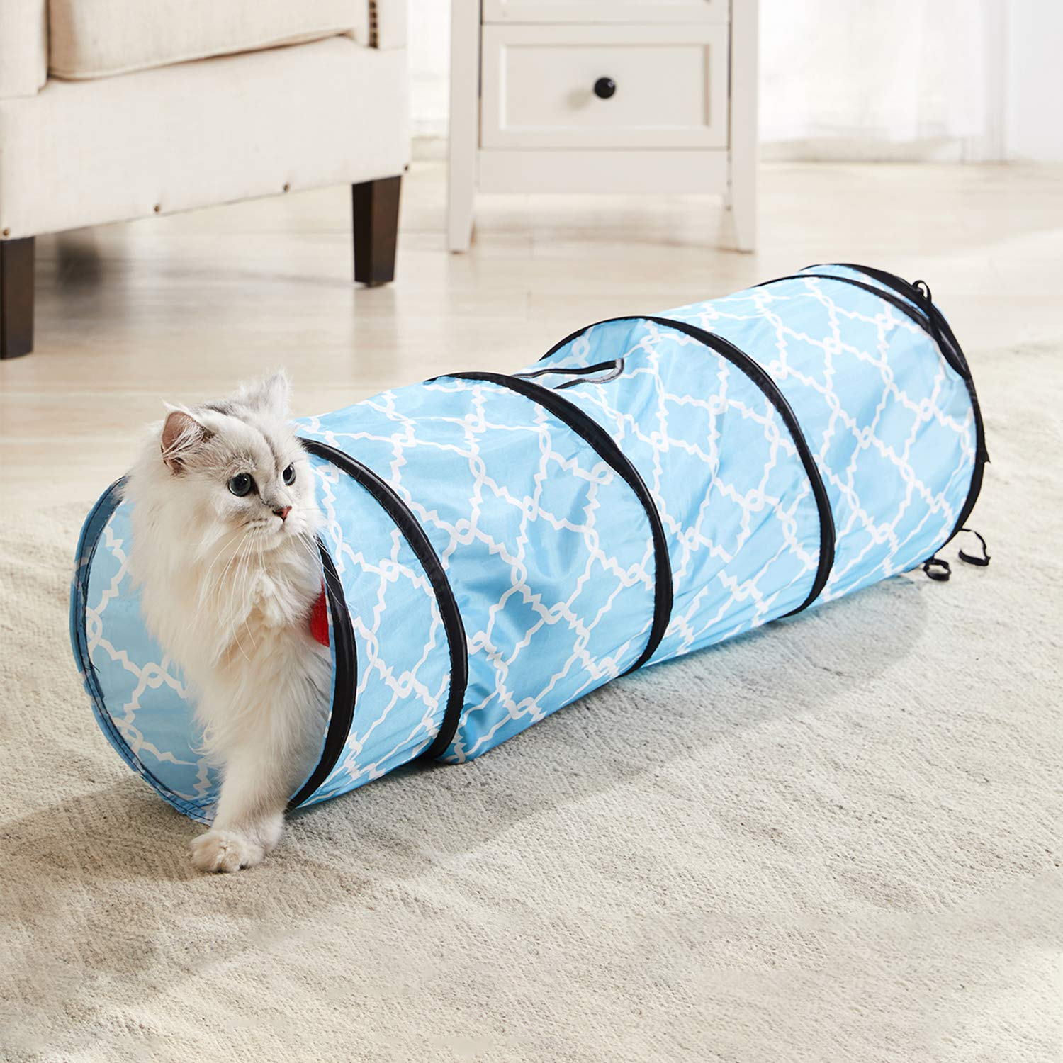 Kitty City Large Cat Tunnel Bed-50% OFF TODAY!