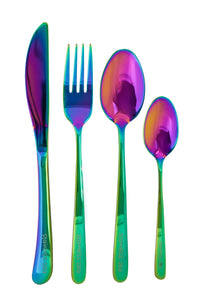 Adult Classic Cutlery Set - Rainbow
