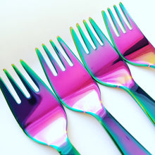 Load image into Gallery viewer, Classic FORK Set - Rainbow - limited quantities