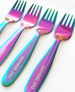 Classic FORK Set - Rainbow - limited quantities