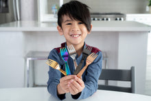 Load image into Gallery viewer, Kids Classic Fork Set - Shimmering Sea