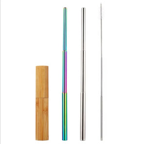 Stainless Steel Adjustable Straw Bundle
