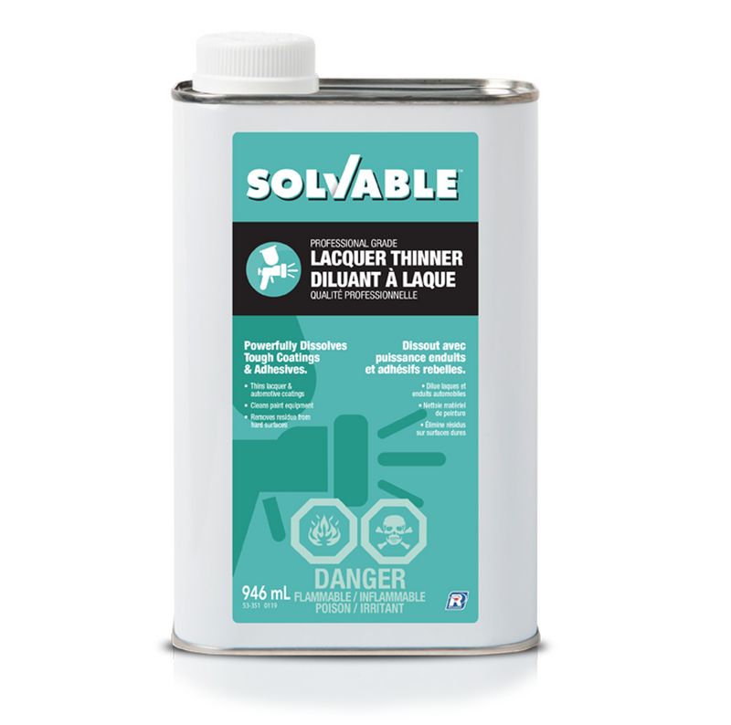 Solvable Lacquer Thinner 946mL