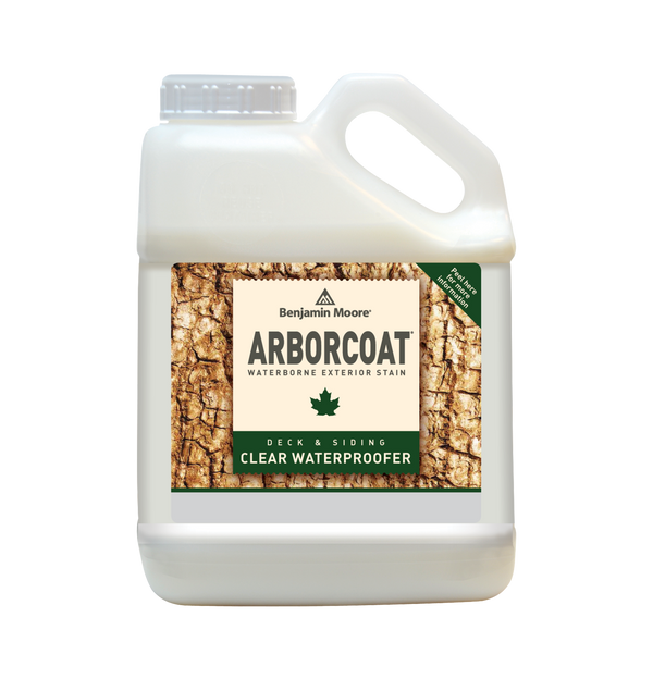 ARBORCOAT® Premium Exterior Stain Exterior Waterproofer - Clear
