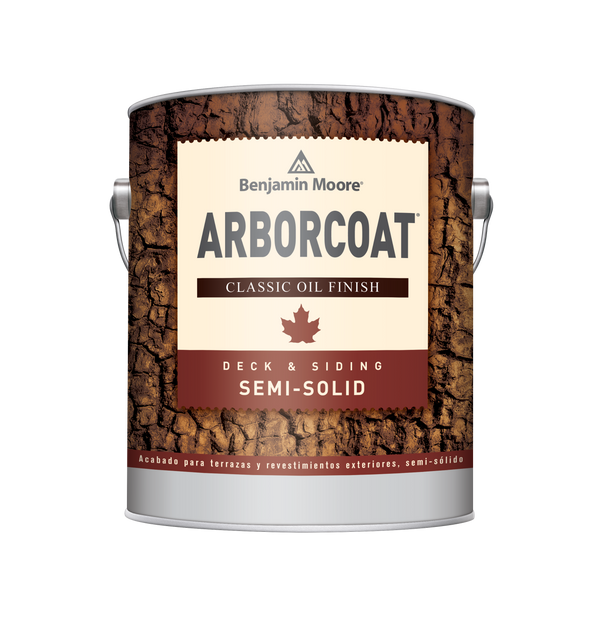 ARBORCOAT® Premium Exterior Stain Semi Solid Classic Oil Finish