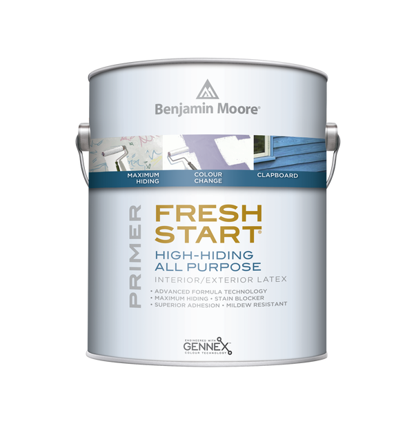 Fresh Start® Premium Exterior Primers High-Hiding All Purpose Primer