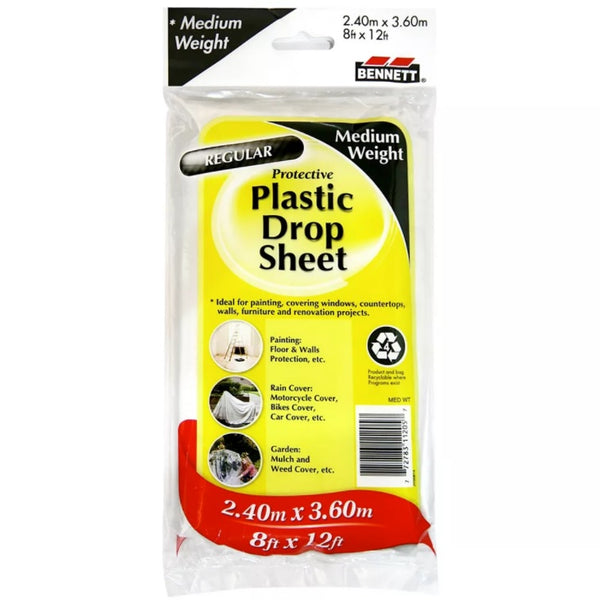Bennett Protective Plastic Drop Sheets