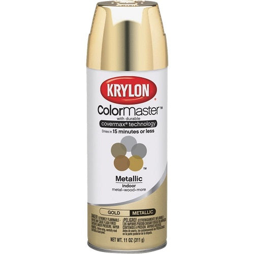 Krylon ColorMaster Paint & Primer Metallic