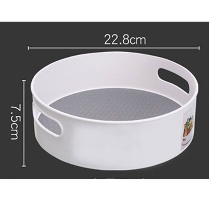Lazy  Turntable Non-Skid Rotating Storage Container Organizer, Multi-Function Rack for Home Kitchen Cosmetics Seasoning