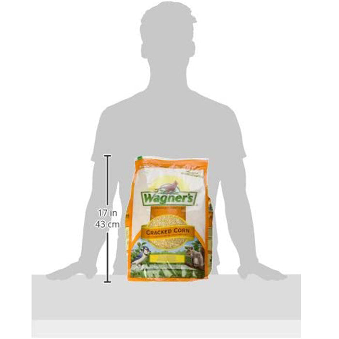 Wagner's 18542 Cracked Corn Wild Bird Food, 10-Pound Bag