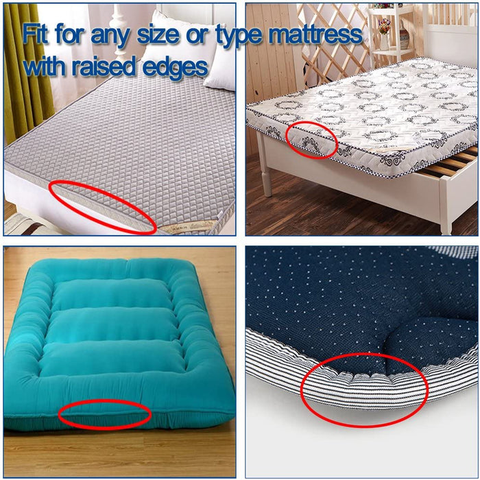 10 Pieces Sheet Holders,Bed Sheet Grippers Keeps The Bed Sheet in Place
