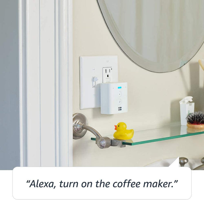 Echo Flex - Plug-in mini smart speaker with Alexa