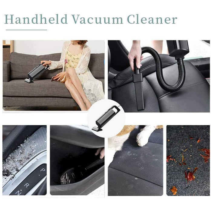 Easyshot Car Vacuum Cleaner,12V - High Power Portable Hand Vacuum Cleaner with HEPA Filter,120W Corded Car Vac with 4 Accessories