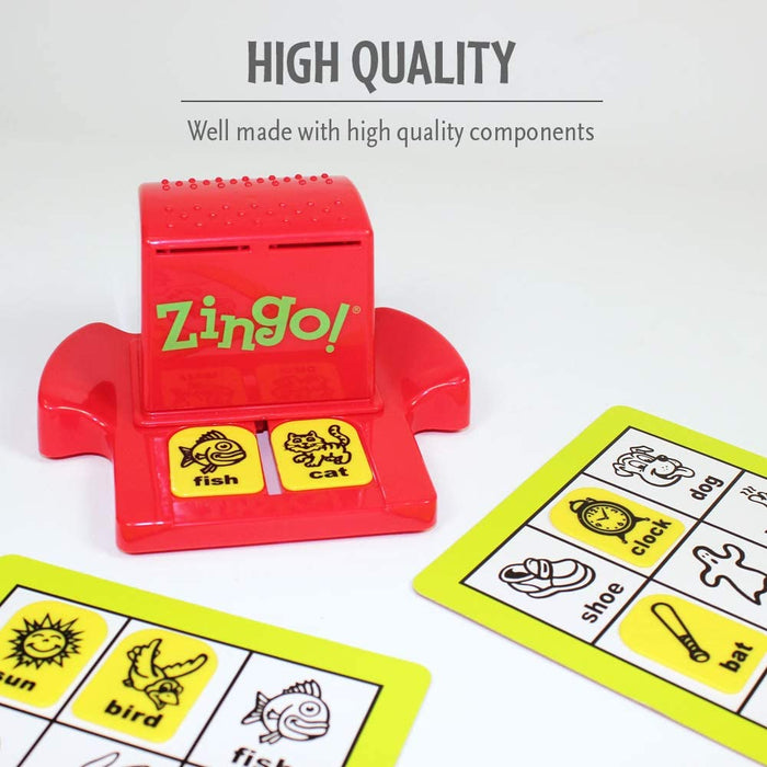 ThinkFun Zingo Bingo for Pre-Readers and Early Readers Age 4 and Up - One of the Most Popular Board Games