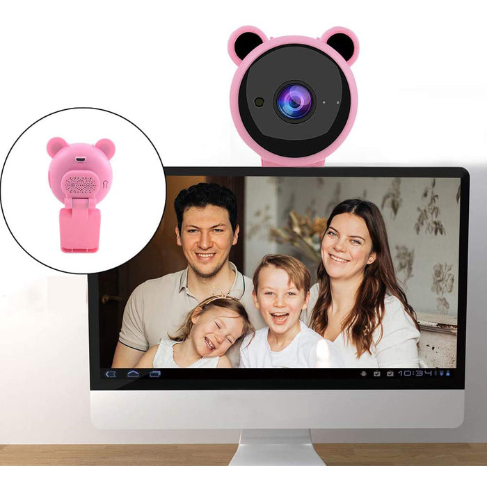 Webcam 1080p Computer Camera Webcam with Microphone, USB Plug and Play Computer Webcams