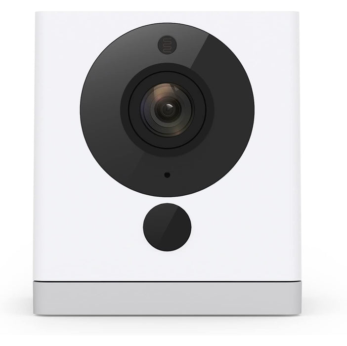 Wyze Cam 1080p HD Indoor Wireless Smart Home Camera with Night Vision, 2-Way Audio, Works with Alexa & the Google Assistant, White - WYZEC2