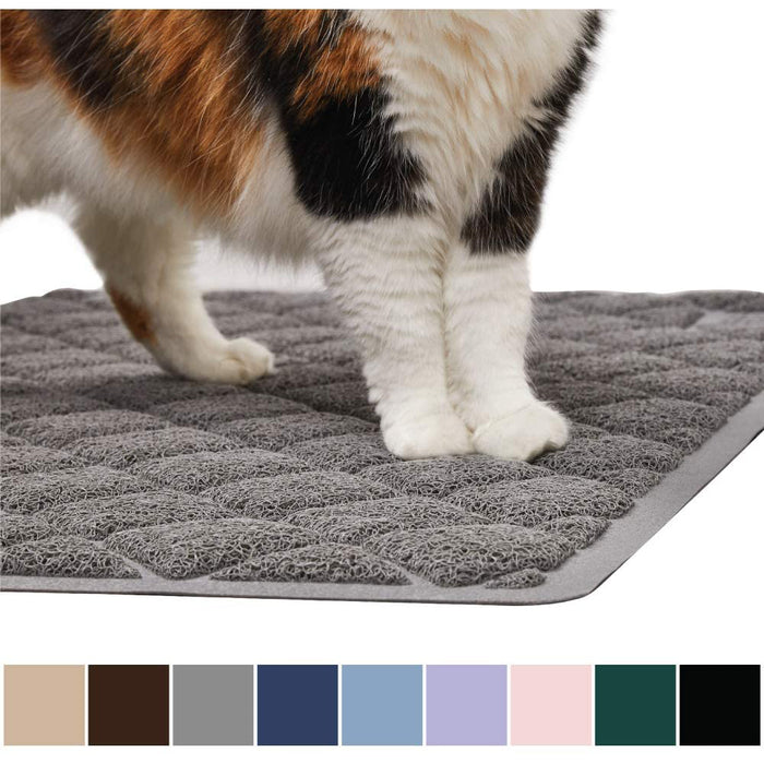 Gorilla Grip Original Premium Durable Cat Litter Mat, XL Jumbo,Water Resistant,  Easy Clean Mats