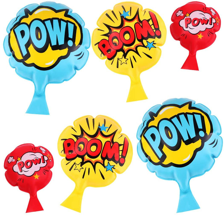 "[6 Pack]Whoopie Cushion,4""7""8""Kids and Adult Whoopee Cushion,Ideas,Party Favor and Reward,Gift and Fun Prank Toy for Children"
