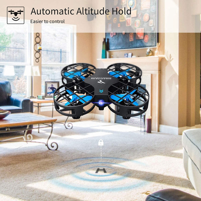 SNAPTAIN H823H Mini Drone for Kids, RC Nano Quadcopter w/Altitude Hold, 3D Flips, One Key Return and Speed Adjustment