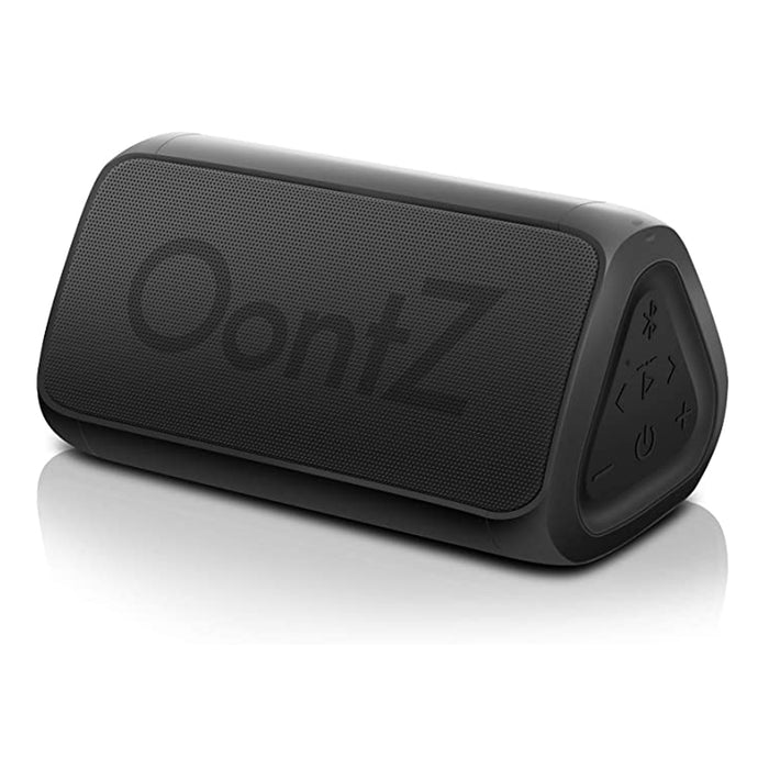 OontZ Angle 3 (3rd Gen) - Bluetooth Portable Speaker, Louder Volume, Crystal Clear Stereo Sound, Rich Bass, 100 Ft Wireless Range, Microphone, IPX5 (Black)