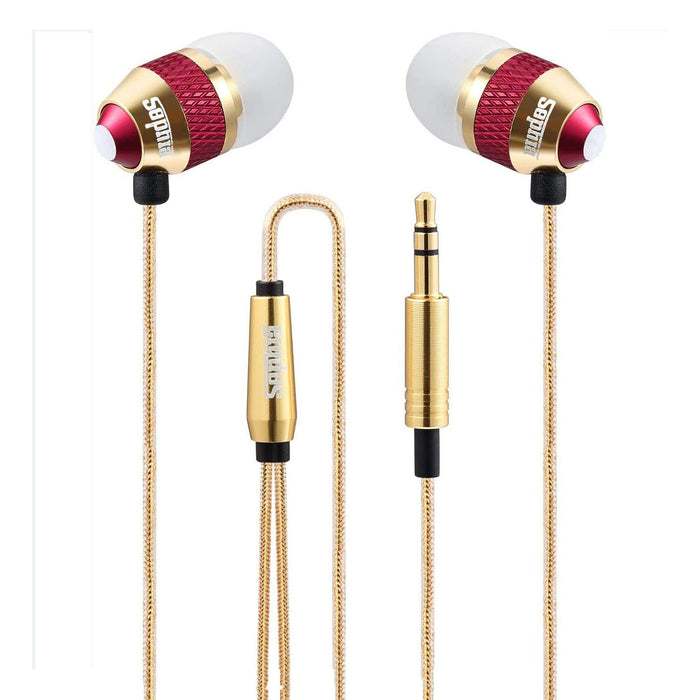 in Ear Headphones, Strong Bass Driven Sound, Wired Earphone Compatible with iPhone, iPad, Tablets, Samsung, Sony, Huawei and Other Android Smartphones