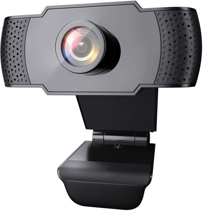 1080P Webcam with Microphone, Wansview USB 2.0 Desktop Laptop Computer Web Camera with Auto Light Correction, Plug and Play