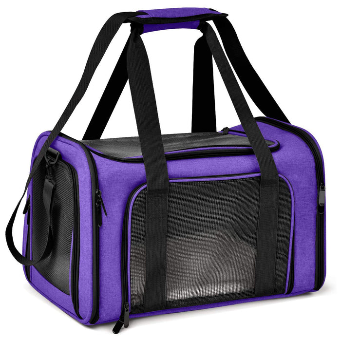 Henkelion Cat Carriers Dog Carrier Pet Carrier for Small Medium Cats Dogs Puppies of 15 Lbs, TSA Airline Approved