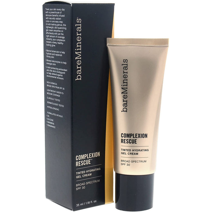 bareMinerals Complexion Rescue Tinted Hydrating Gel Cream SPF 30, Natural 05, 1.18 Ounce