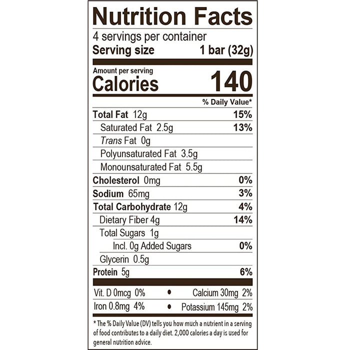 Munk Pack Peanut Butter Keto Granola Bars with 1g Sugar, 2g Net Carbs, Keto Snacks, 12 Pack