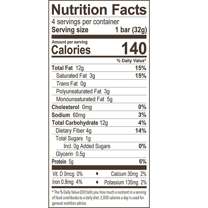 Munk Pack Almond Butter Cocoa Chip Keto Granola Bars with 1g Sugar, 2g Net Carbs, Keto Snacks, 12 Pack