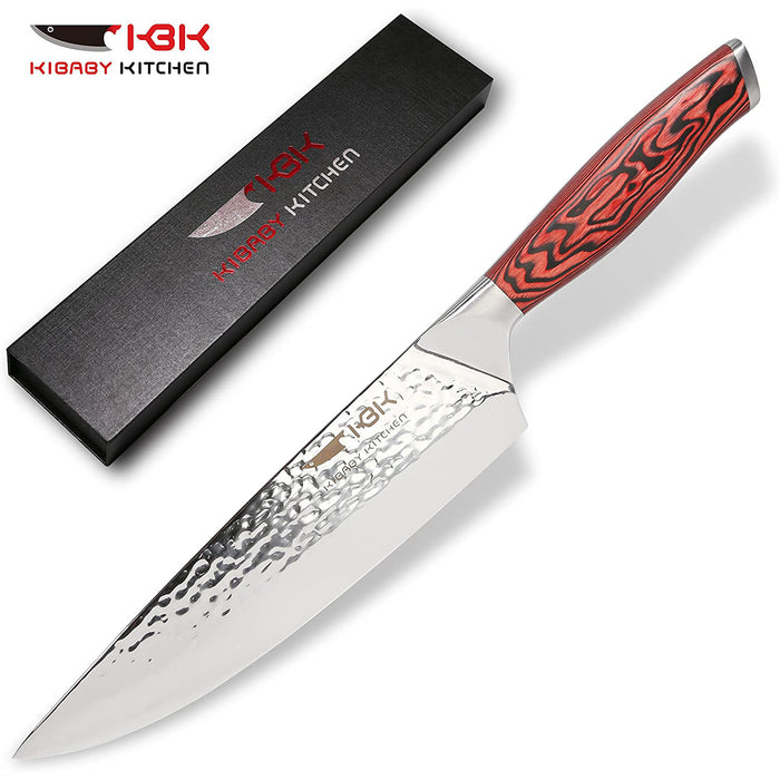 KBK Cuchillos De Cocina Cooking Knife Chef Knife 8 Inch Professional Kitchen Knives Japanese Carbon Steel With 58 HRC Razor Sharp For Chefs