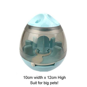 Interactive Cat Toy IQ Treat Ball Smarter Pet Toys Food Ball Food Dispenser - Buyfie