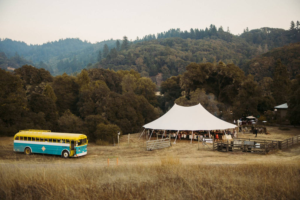 Colorful Bohemian Wedding in Northern California ao cuoi meera meera