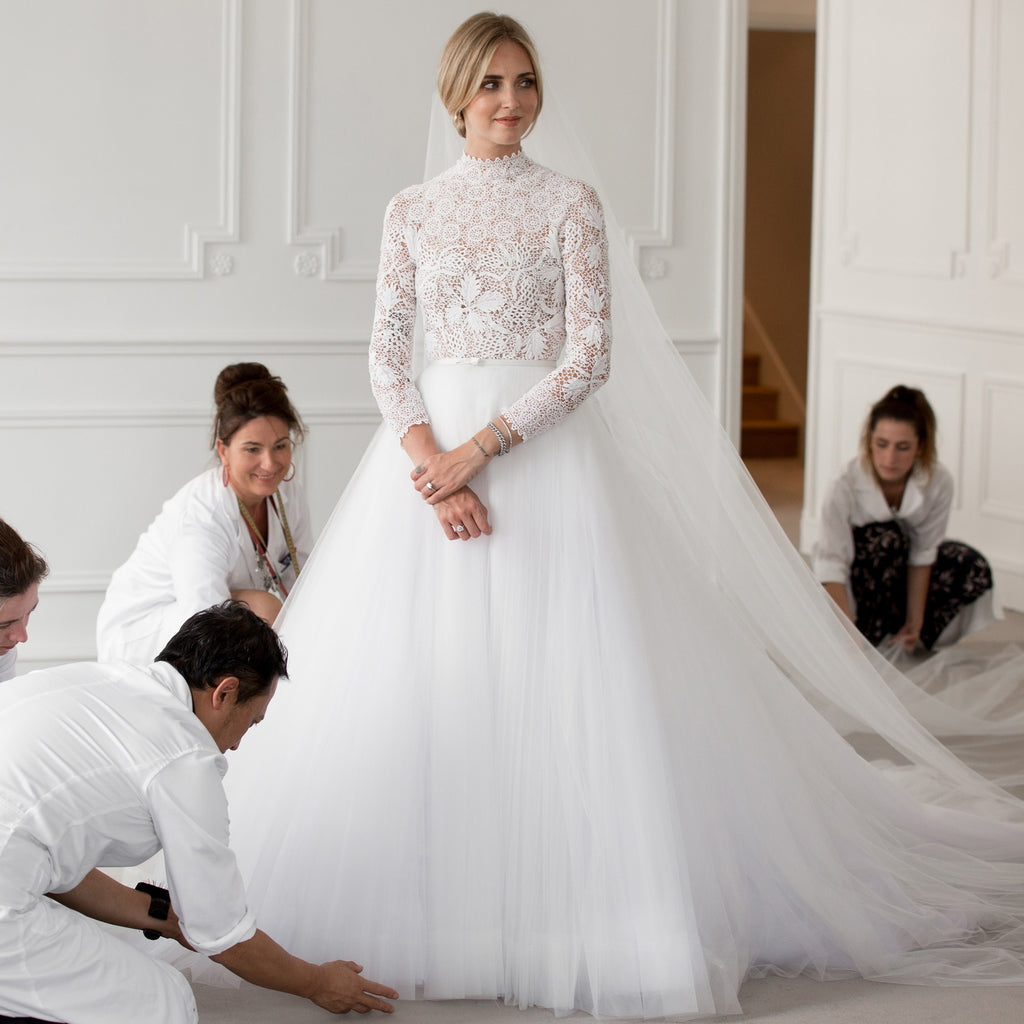 © Sophie Carre Dior_5 meera meera wedding dress Chiara Ferragni