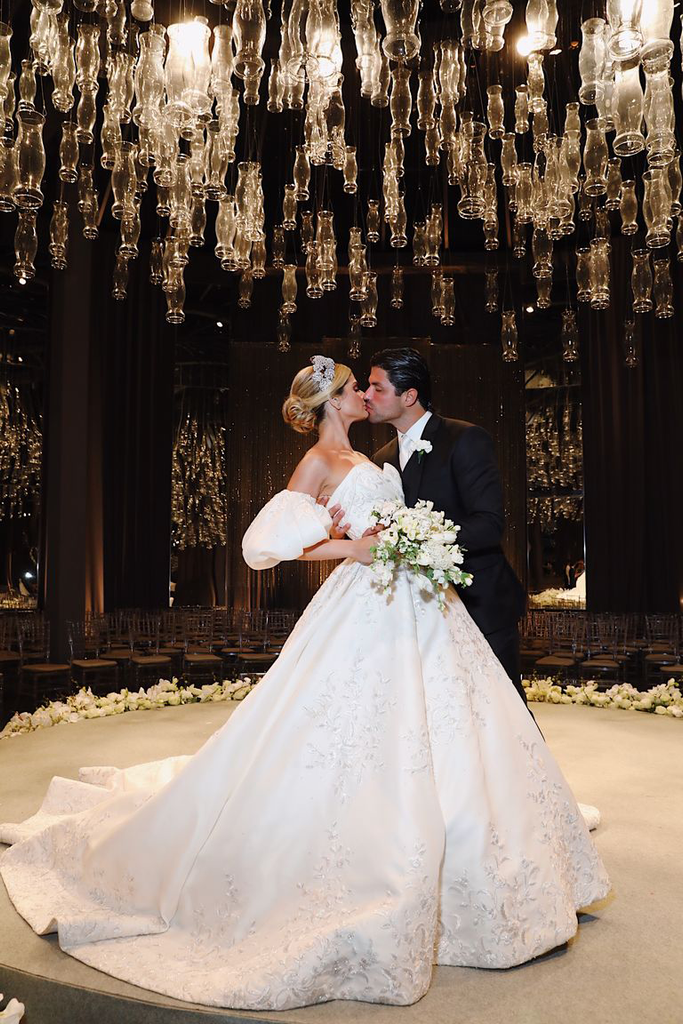 Thassia Naves' Ralph & Russo couture wedding dress took 10 months to create