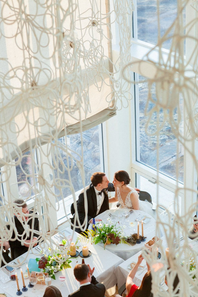 Vogue Catherine Kong Jed Feldman Fogo Island Canada wedding