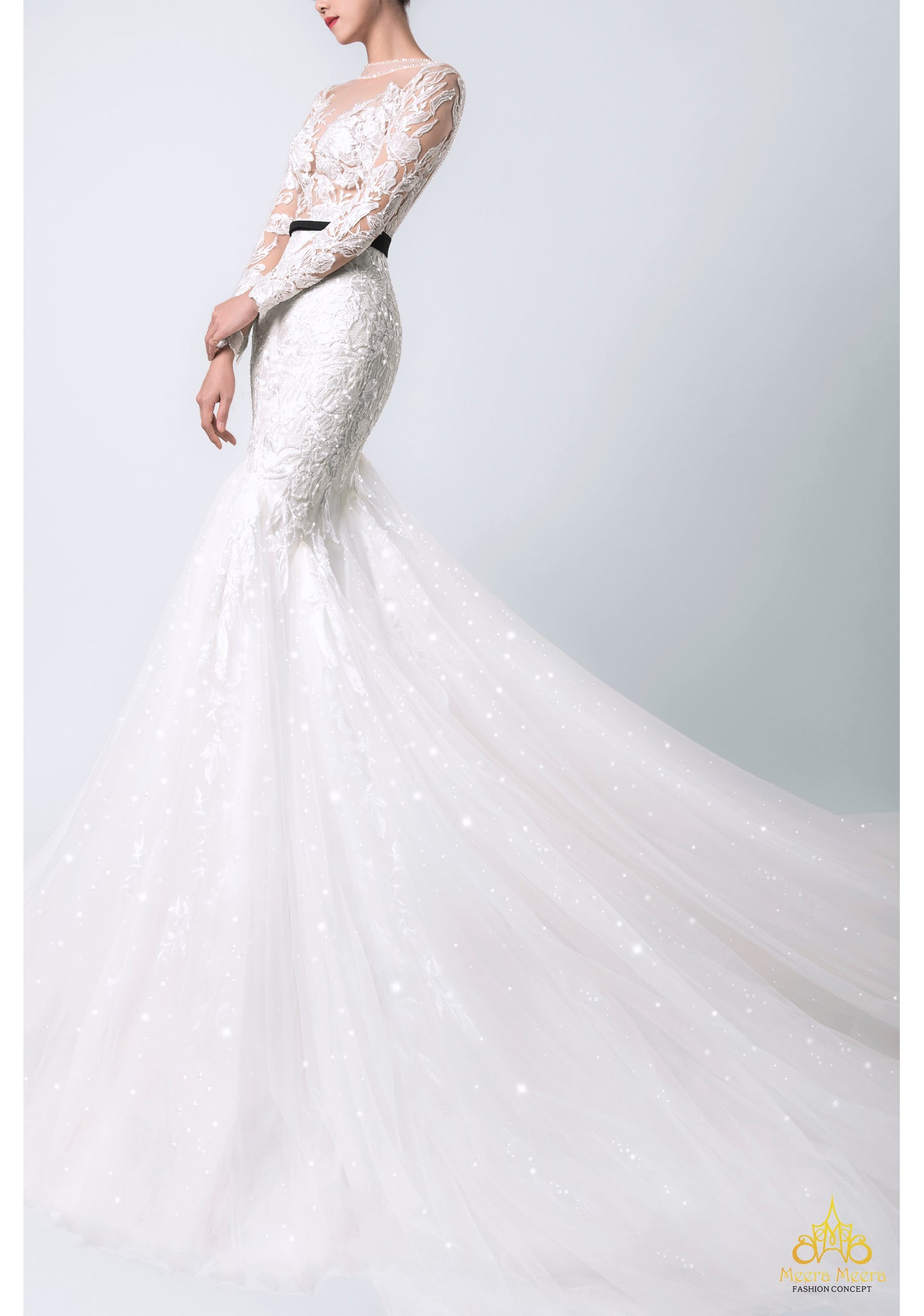 luxury trumpet wedding dress exclusive couture bridal collection womens instinct