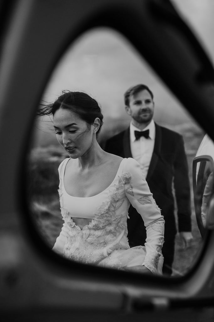 nicole-warne-and-luke-shadbolt-valentino wedding dress ao cuoi meera meera bridal
