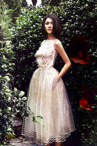 ao cuoi ngan / short wedding dress MM4225A