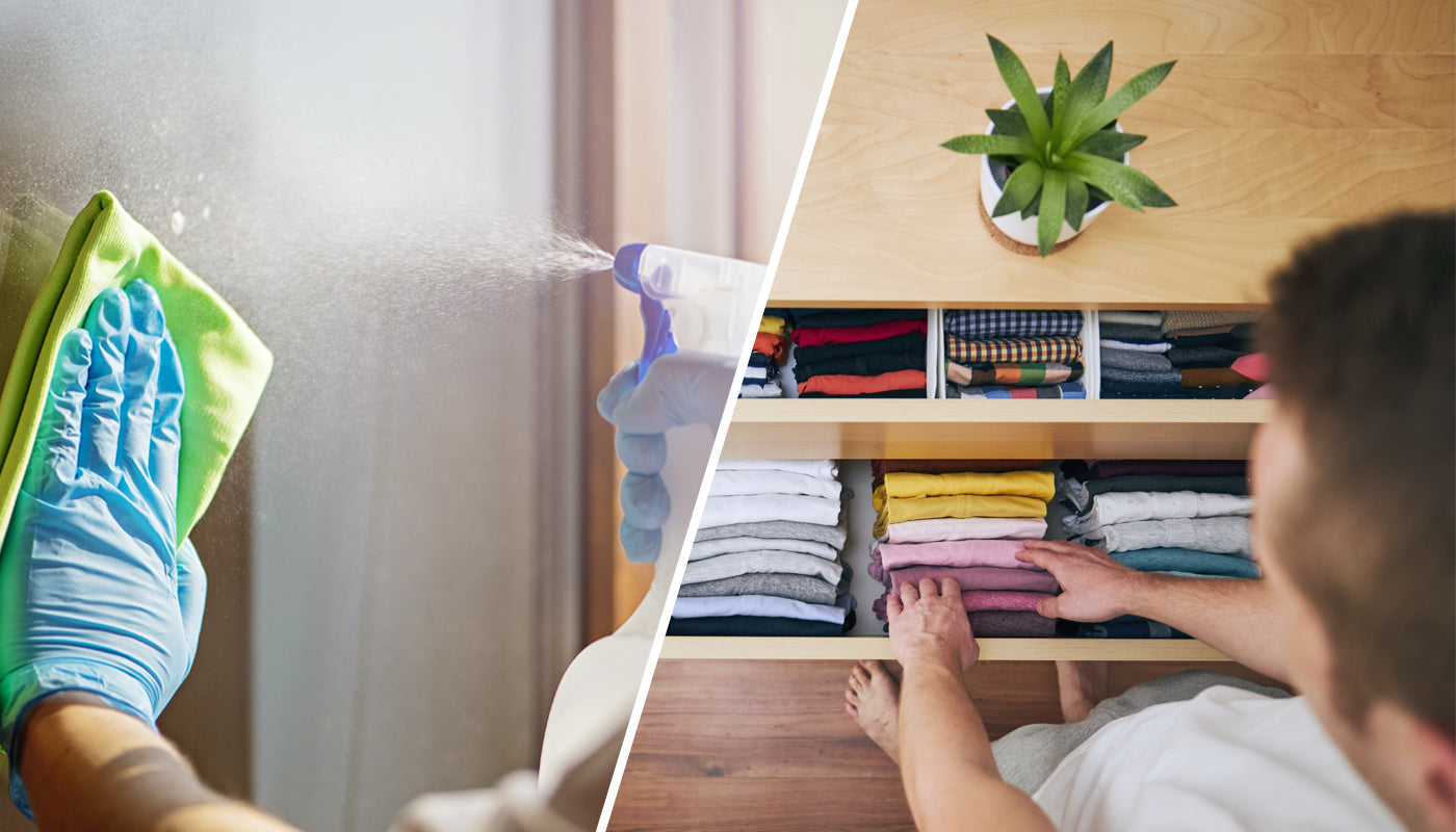 Are you a cleaner or a tidier?