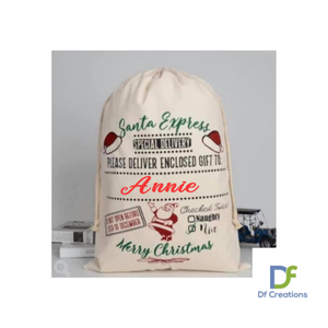 Christmas Santa Sack - Personalised