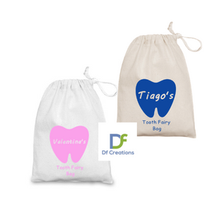 Tooth Fairy Personalised Draw String Bag