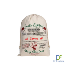Load image into Gallery viewer, Christmas Santa Sack - Personalised