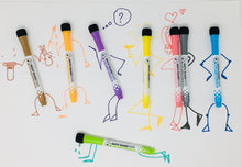 Load image into Gallery viewer, Magnetic Dry Erase Markers - Set of 8 Pens