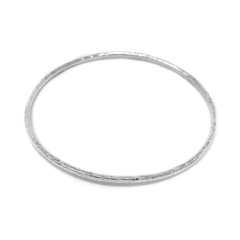 Silver Bangle - Lottie & Grey