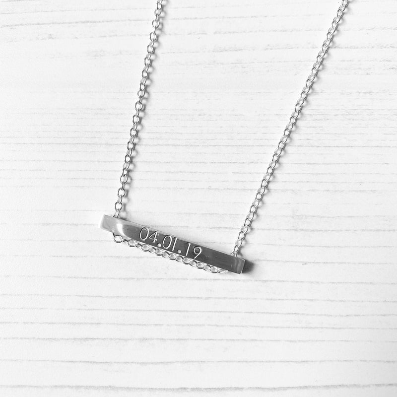 Bar Necklace - Lottie & Grey