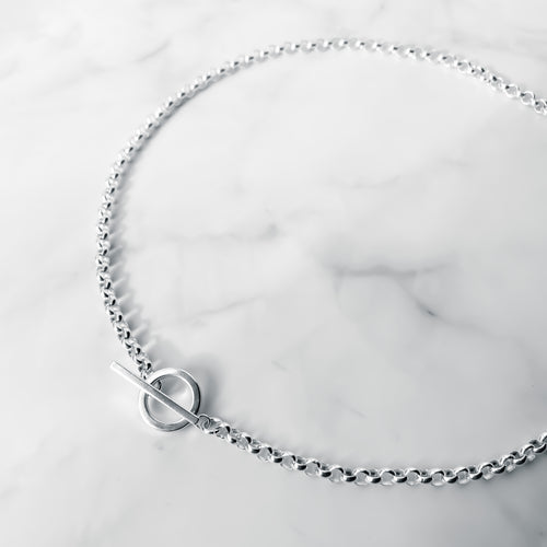 Chunky T Bar Necklace - Lottie & Grey
