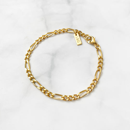 Gold Filigree Bracelet - Lottie & Grey